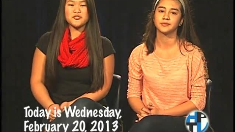 Thumbnail for entry Wednesday, February 20, 2013