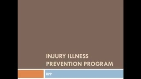 Thumbnail for entry Injury Illness Prevention Plan