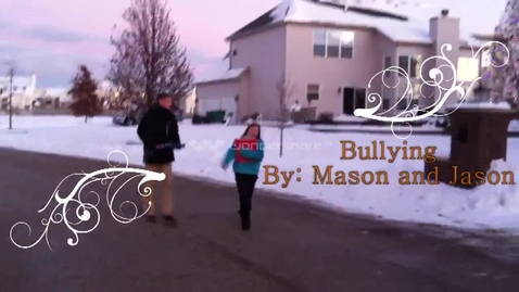 Thumbnail for entry Digiteen Project:  Bullying and Cyberbullying