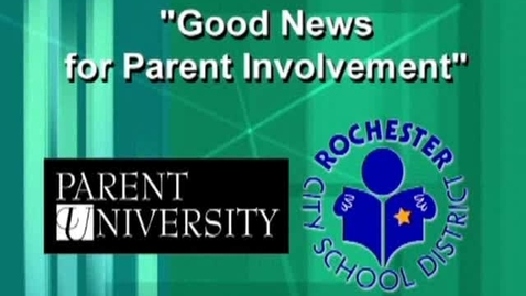 Thumbnail for entry Good News For Parent Involvement - Type 4 Learning at Home