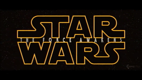 Thumbnail for entry New Star Wars movie hits theaters with a bang
