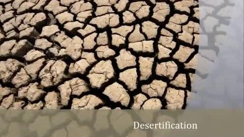 Thumbnail for entry Desertification