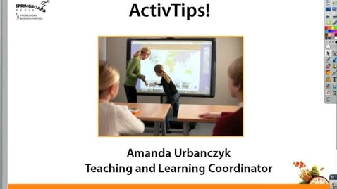 Thumbnail for entry Converting handwriting into Text on your Promethean Board