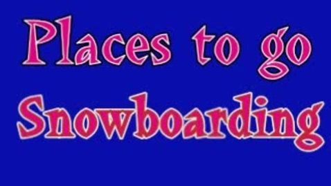 Thumbnail for entry Podcast - Snowboarding