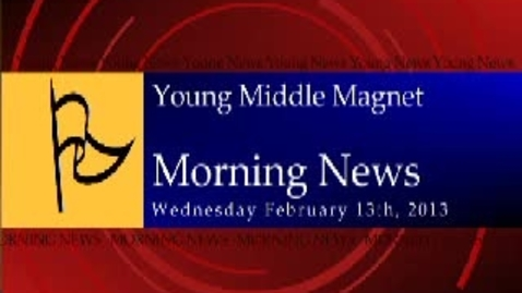 Thumbnail for entry 02-13-2013 Morning Show