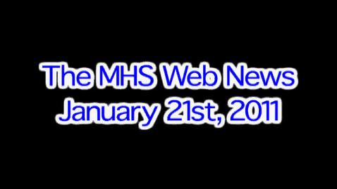 Thumbnail for entry MHS Web News