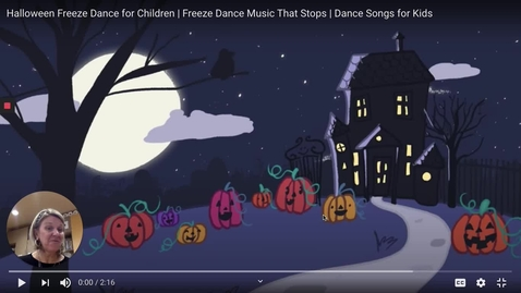 Thumbnail for entry Halloween Freeze Dance