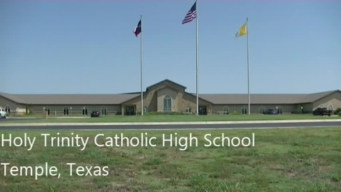 Thumbnail for entry H3News--August 29, 2019.  Holy Trinity Catholic HS, Temple, Texas