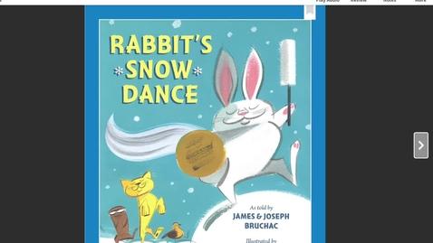 Thumbnail for entry Rabbit's Snow Dance