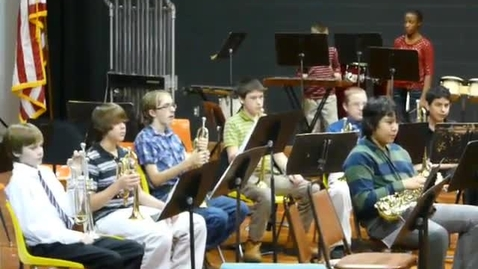 Thumbnail for entry Seminole Middle School Band 2010