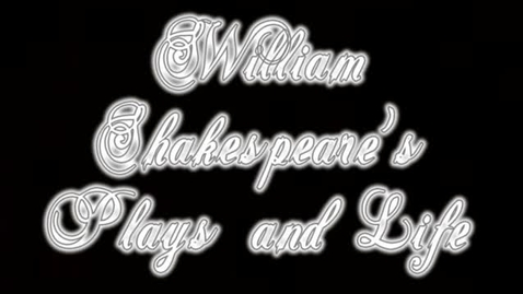 Thumbnail for entry William Shakespeare