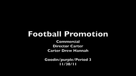 Thumbnail for entry CHS Football Promo