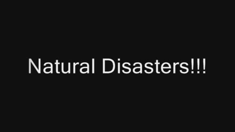 Thumbnail for entry Natural Disasters by R. Butteris
