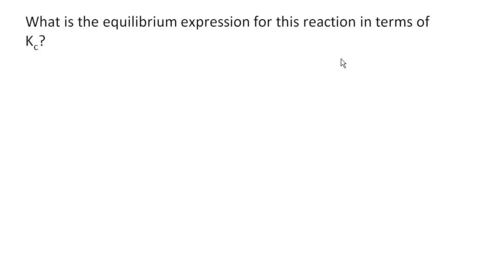 Thumbnail for entry AP Style Equilibrium Problem
