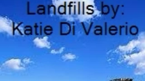 Thumbnail for entry Landfills - KD
