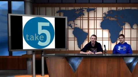 Thumbnail for entry Take 5 Episode 18 Season 1