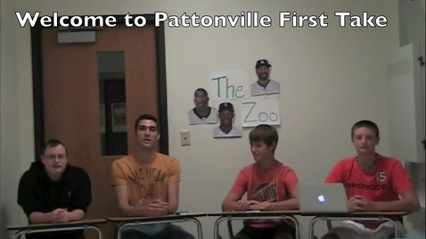 Thumbnail for entry Pattonville First Take 9/20
