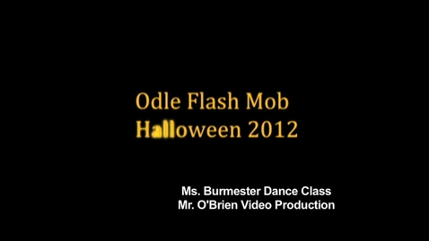 Thumbnail for entry Flash Mob Dance