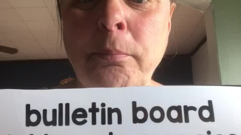 Thumbnail for entry 4.20.20-Spanish word of the day-bulletin board