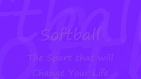 Thumbnail for entry Softball Tryouts