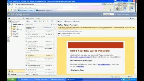 Thumbnail for entry Webmail- Block a Sender