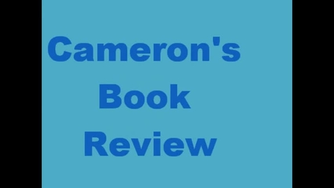 Thumbnail for entry 13-14 Linville Cameron's Book Review