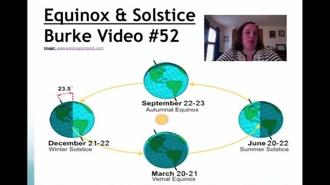 Thumbnail for entry Burke Video #52 Equinox