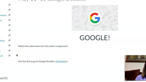 Thumbnail for entry Google Doodle