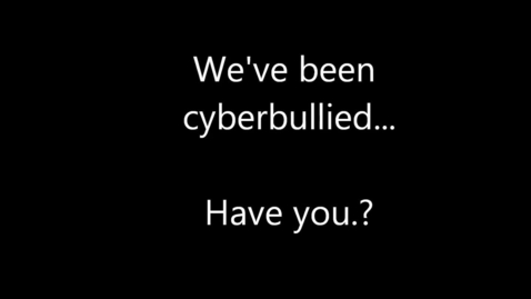 Thumbnail for entry Cyberbullying.. the slow death of our generation....