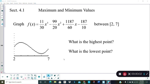 Thumbnail for entry Calc Sect. 4.1 (part 1)
