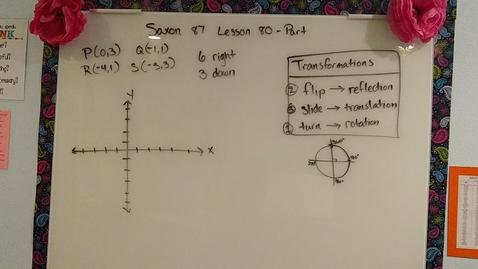 Thumbnail for entry Saxon 8/7 Lesson 80 part 3