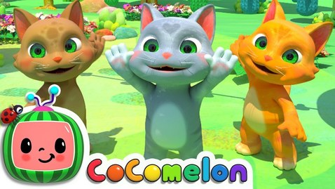 Thumbnail for entry Three Little Kittens | CoComelon Nursery Rhymes & Kids Songs