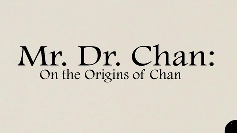 Thumbnail for entry Mr. Dr. Chan Scene One