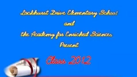 Thumbnail for entry Fifth Grade Lockhurst Culmination