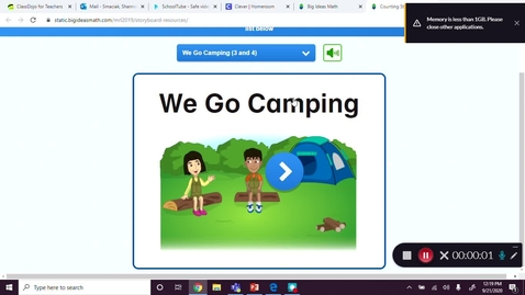 Thumbnail for entry We Go Camping