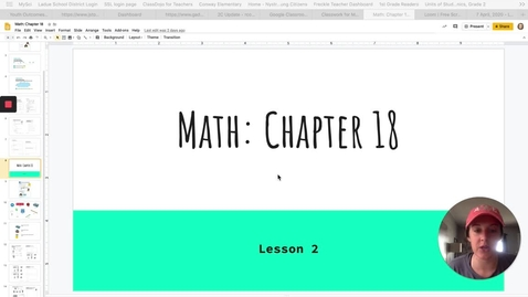 Thumbnail for entry Chapter 18-Lesson 2