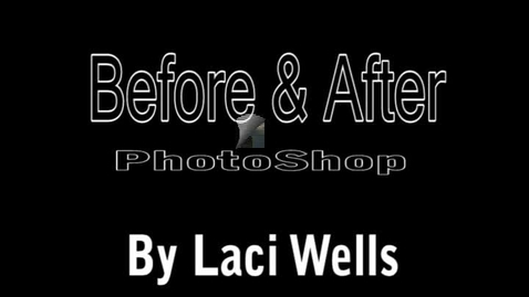 Thumbnail for entry Photoshop before and after