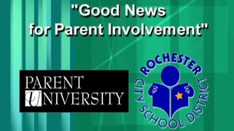 Thumbnail for entry Good News for Parent Involvement - Type 2 Communication