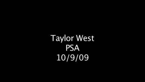 Thumbnail for entry Time Travel PSA