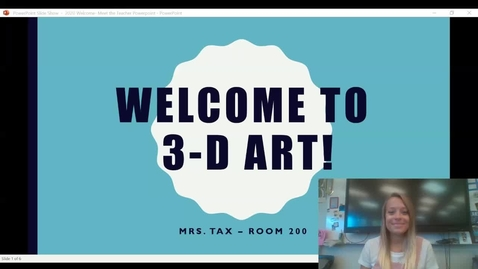 Thumbnail for entry Welcome to 3_D art Video