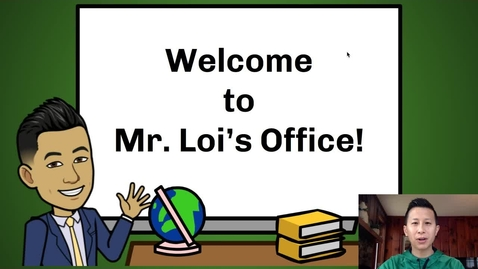 Thumbnail for entry Principal Loi's Message to Students: April 2, 2020