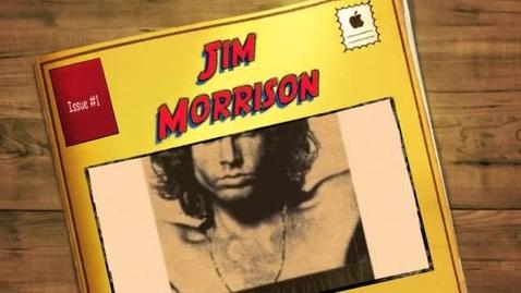 Thumbnail for entry Jim Morrison by Reid