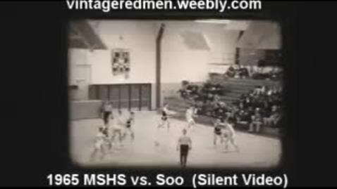 Thumbnail for entry 1965 MSHS Boys' Basketball vs. Sault Ste. Marie