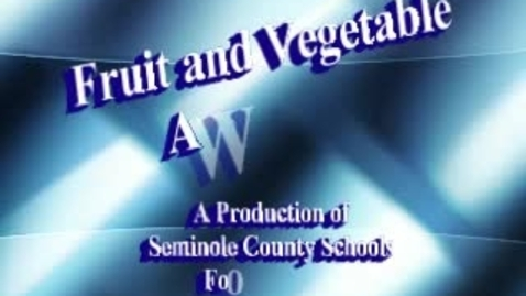 Thumbnail for entry Fruit & Vegetable Skit #1