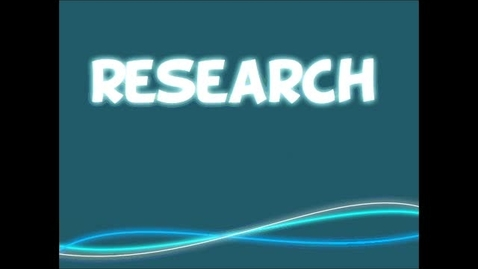 Thumbnail for entry What is Research?