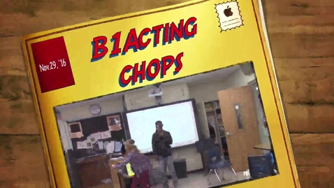 Thumbnail for entry B1: Acting Chops With Random Props