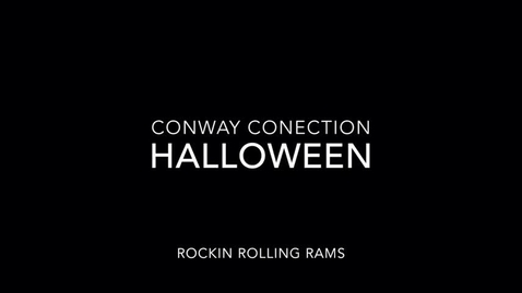 Thumbnail for entry Conway Connection, Episode 10, 10/30/17 - Halloween