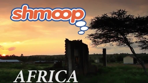 Thumbnail for entry Africa (Angelou) by Shmoop