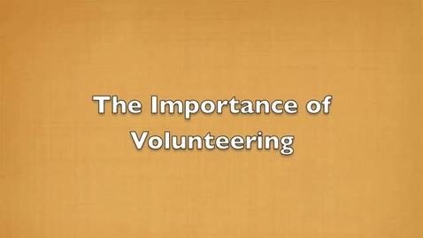 Thumbnail for entry Slavens Volunteer