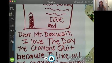 Thumbnail for entry Celebrating Books We Love...Reading 6/8